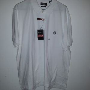 NWT Chaps stretch short sleeve polo shirt BXB 16